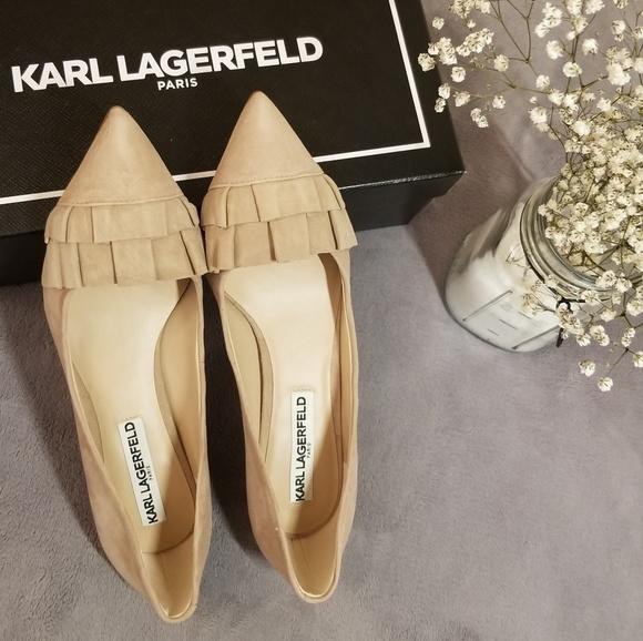 b0e1b74ad8 Karl Lagerfeld Shoes | Last One Larissa Low Pumps | Poshmark